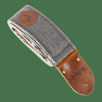Stringjoy Slate Tweed Guitar Strap