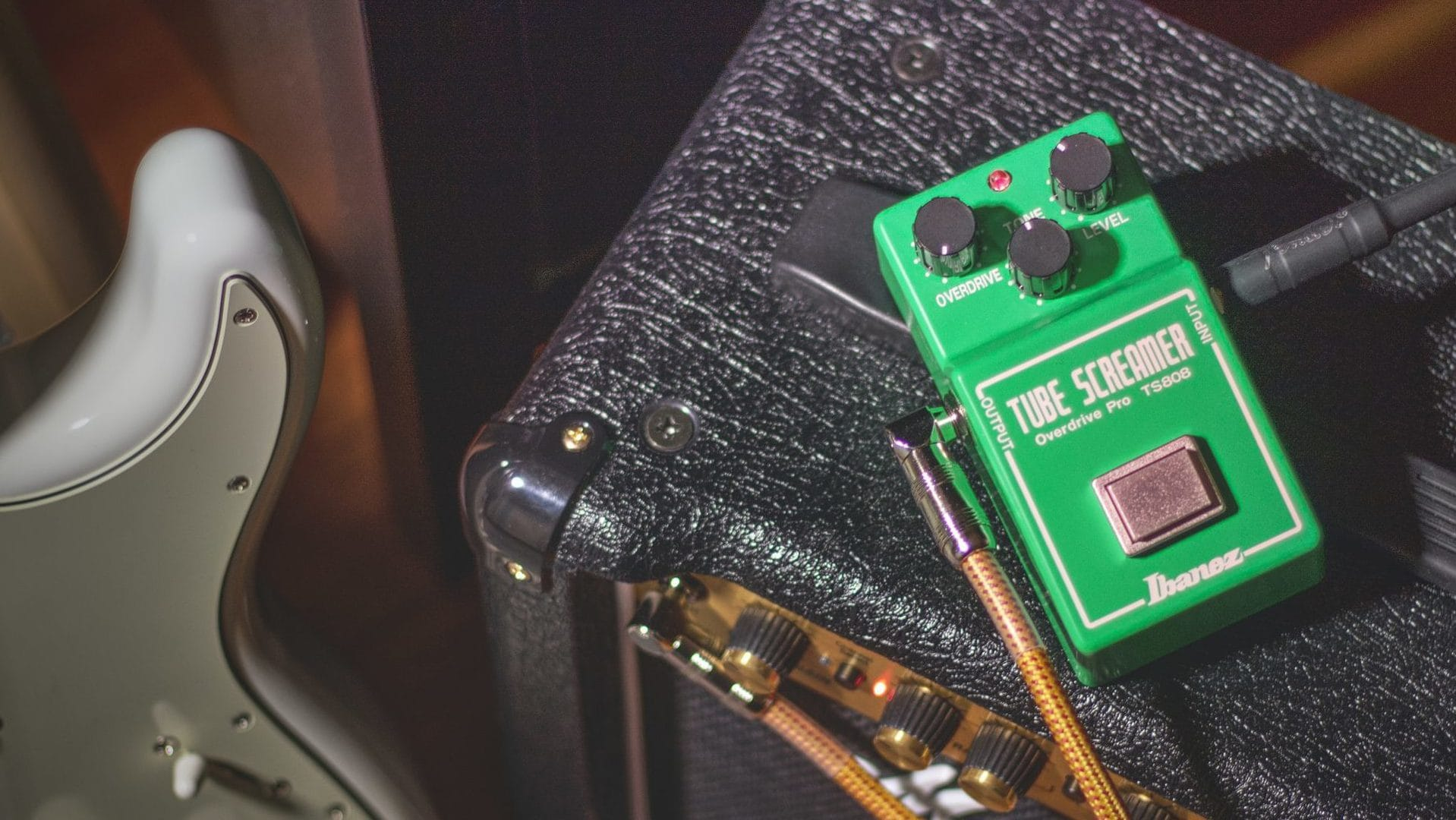 A bedroom rig similar to Stevie Ray Vaughan's iconic choices